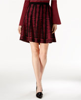 Grace Elements Printed Sweater Skirt