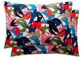 Sonia Rykiel Rue De Fleurus Nuit Set of 2 Standard Pillowcases