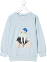 Wauw Capow Captain walrus sweater