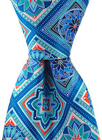 Murano Dialed Up Tiles Traditional Silk Tie