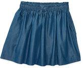 Ralph Lauren 7-16 Chambray Pull-On Skirt