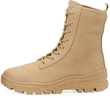 Yeezy Nubuck Military Combat Boots
