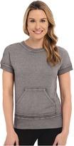 Josie New Sweat Short Sleeve Top