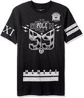 Southpole Men's Short Sleeve Tee with Over 99 Graphics