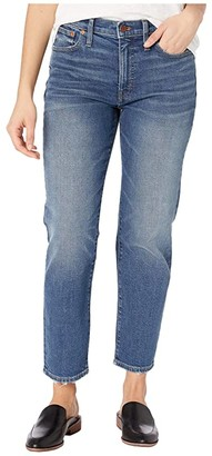 Madewell Mid-Rise Classic Straight in Carsondale Wash (Carsondale Wash) Women's Jeans