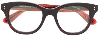 Oliver Peoples Netta square-frame glasses