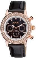 August Steiner Women's ASA818WT Swiss Quartz Multi-Function Dazzling Fashion Watch