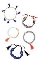BaubleBar Women's Mahala Set Of 5 Bracelets