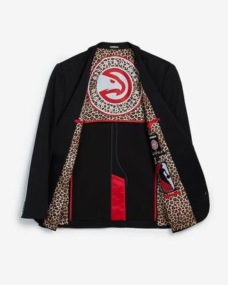 Express Slim Atlanta Hawks Nba Performance Stretch Blazer