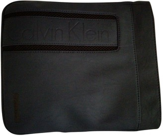 Calvin Klein Blue Synthetic Small bags, wallets & cases