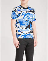 Sandro War cotton-jersey T-shirt