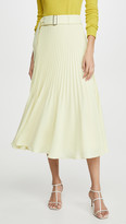 Club Monaco Split Pleat Skirt