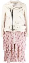 Junya Watanabe floral-print panel jacket