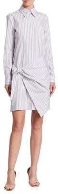 Victoria Beckham Victoria, Front Wrap Shirt Dress