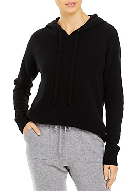 C by Bloomingdale's Cashmere Pullover Hoodie - 100% Exclusive