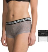 Nicole Miller Banded Lace Panties - 3-Pack, Hipster (For Women)