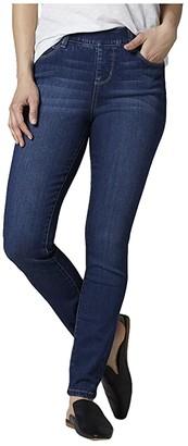 Jag Jeans Petite Bryn Skinny Pull-On Jeans (Mid Indigo) Women's Jeans
