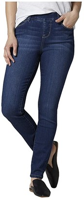 Jag Jeans Petite Petite Bryn Skinny Pull-On Jeans (Mid Indigo) Women's Jeans