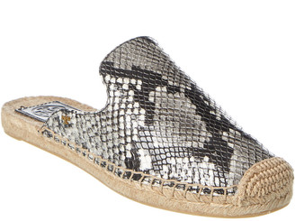 Tory Burch Max Leather Espadrille Slide