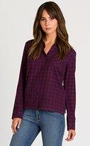 RVCA Junior's Jig 2 Plaid Flannel Shirt