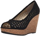 Adrienne Vittadini Footwear Women's Carilena Wedge Pump
