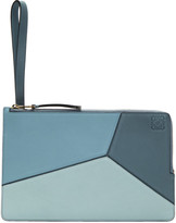 Loewe Blue Flat Puzzle Pouch
