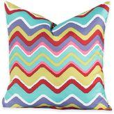 Crayola Mixed Palette Chevron 16-Inch Square Throw Pillow