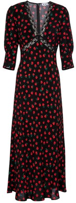 Rixo Gemma floral maxi dress