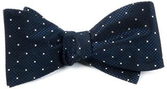 Tie Bar Showtime Geo Midnight Navy Bow Tie