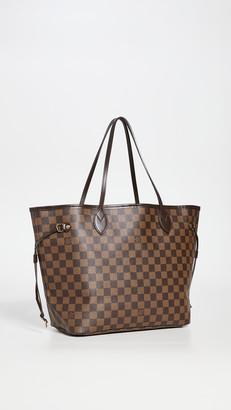 Shopbop Archive Louis Vuitton Damier Neverfull MM Tote