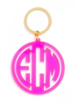 BaubleBar Extra Large Acrylic Monogram Keychain