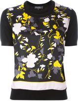Salvatore Ferragamo floral print knit T-shirt