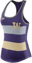 Nike Women's Washington Huskies Stripe Tank Top