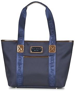 Ted Lapidus TONIC women's Shoulder Bag in Blue