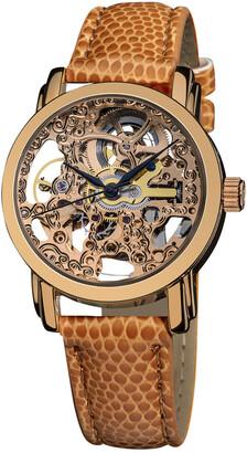 Akribos XXIV Women's Skeleton Watch
