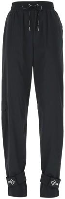 Off-White Drawstring Track Pants