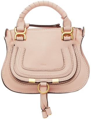Chloé Pink Mini Marcie Bag