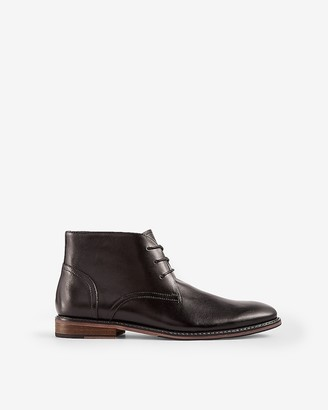 Express Leather Chukka Boots