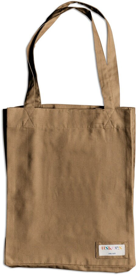 Thumbnail for your product : Uskees - The 4002 Small Organic Tote Bag - Khaki