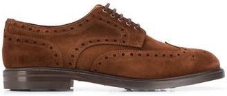Berwick Shoes Marron lace-up shoes
