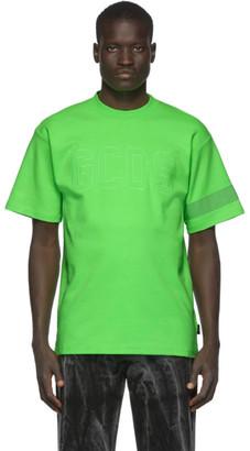 GCDS Green Fluo Logo T-Shirt