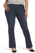 Plus Size Women's Wit & Wisdom Ab-Solution Itty Bitty Bootcut Jeans