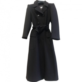 Cantarelli Brown Wool Trench Coat for Women