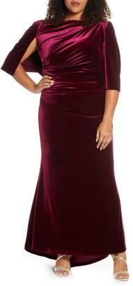 Eliza J Capelet Velvet Gown
