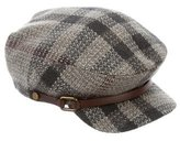 Burberry Wool Smoked Check Cap