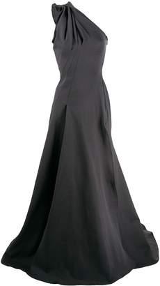 Maticevski side slit gown
