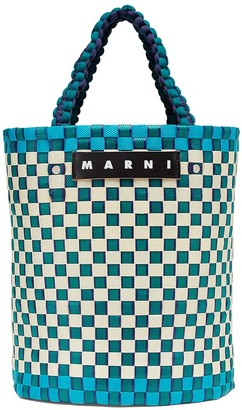 Marni Market Woven Bucket Bag