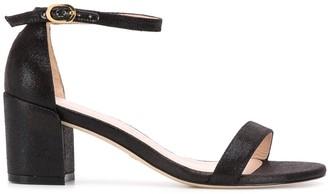 Stuart Weitzman Low Block Heel Sandals