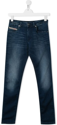 Diesel TEEN Sleenker-J-N slim-fit jeans
