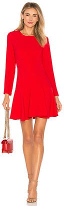 Amanda Uprichard X REVOLVE Long Sleeve Hudson Mini Dress